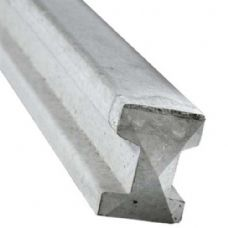 slotted concrete posts for fencing